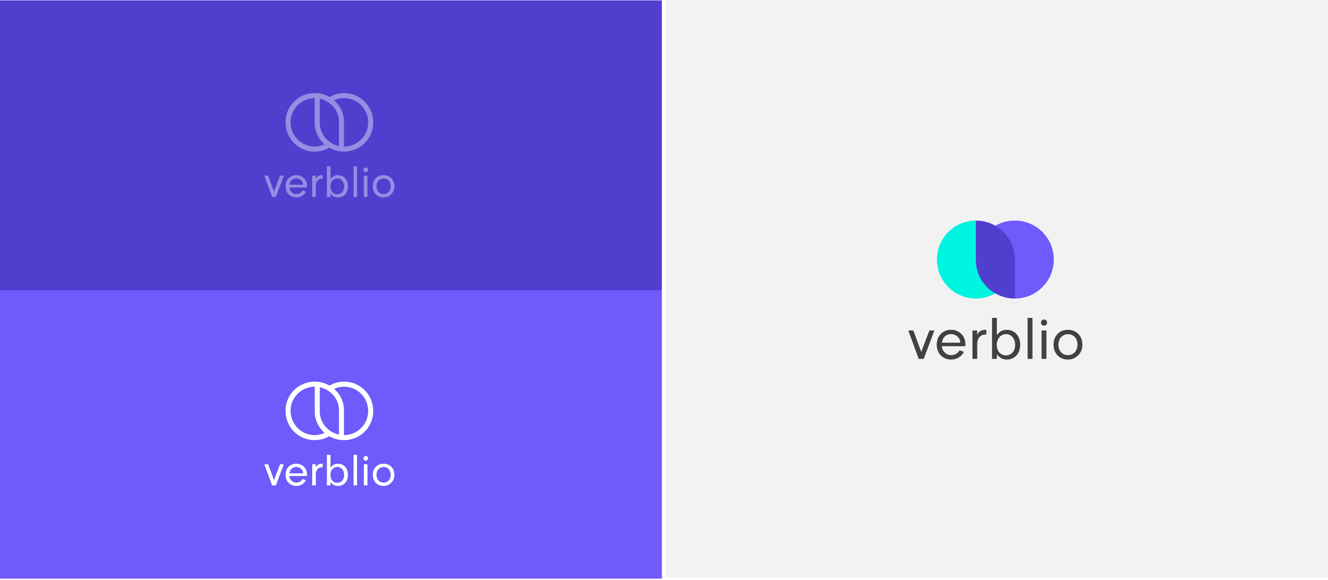 image of the vertical version of new verblio logo
